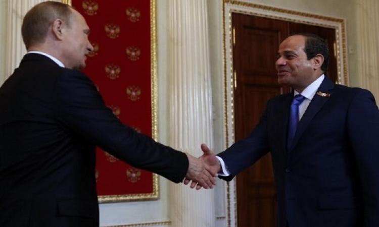 السيسى يلتقى بوتين: مصر وروسيا لديهما الكثير لعمله لتحقيق ازدهار البلدين