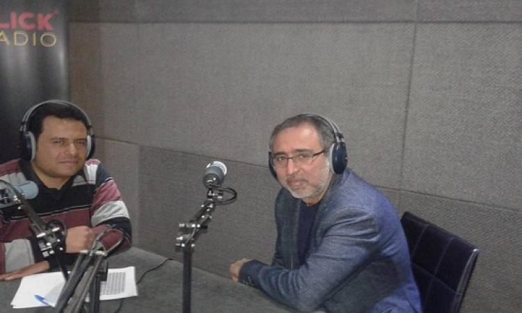 المؤلف الموسيقى تامر كروان ضيف الاختيار على راديو كليك مساء اليوم