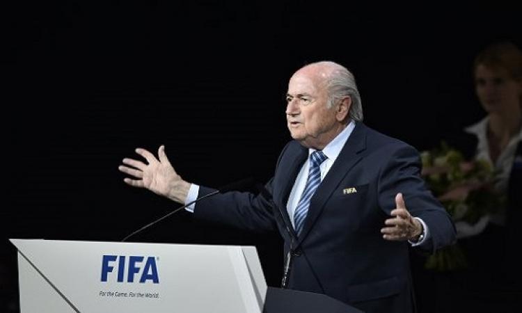 يبقى الحال على ما هو عليه .. بلاتر : لا تغيير فى توزيع الأماكن فى كأس العالم