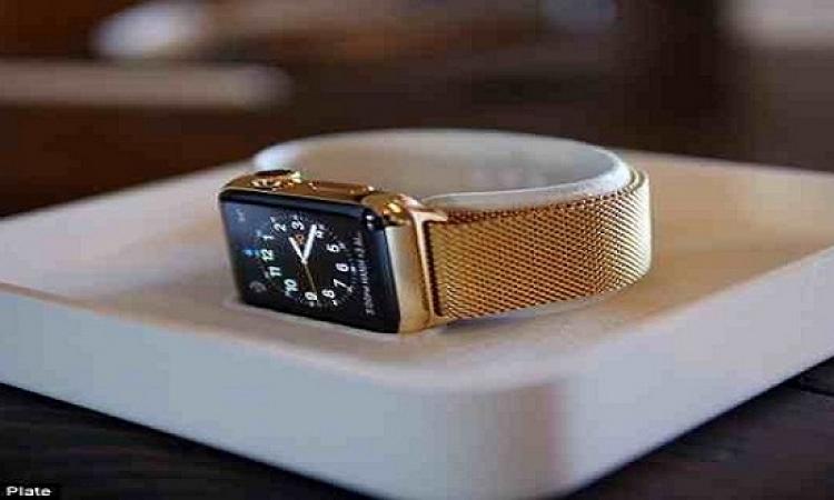بالصور ..أناقة ساعة أبل الذهبية الأولى..تكنولوجيا وإبداع