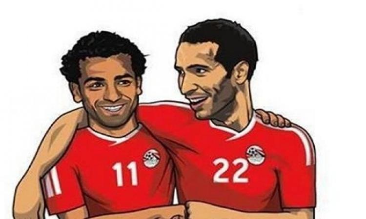 محمد صلاح يعلن تضامنه مع ابو تريكة: ستظل فى القلوب!!