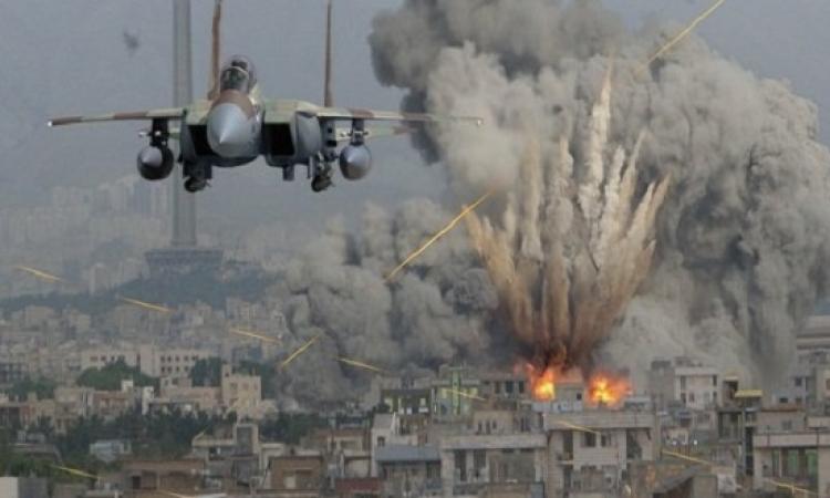 غارات اسرائيلية على غزة رداً على صواريخ فلسطينية