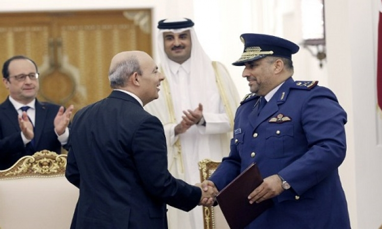 فرنسا وقطر توقعان رسميا عقد صفقة طائرات الرافال
