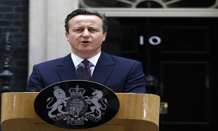 رئيس الوزراء البريطانى يناقش مع ولى عهد أبو ظبى سبل مواجهة داعش