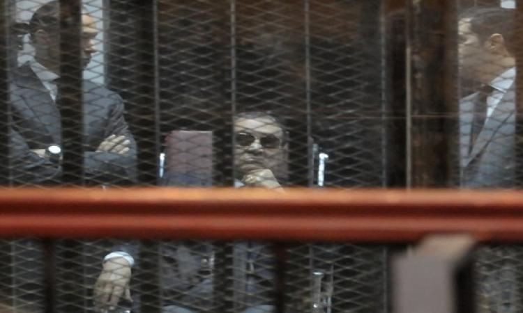 النطق بالحكم اليوم فى طعن مبارك ونجليه بقضية القصور الرئاسية