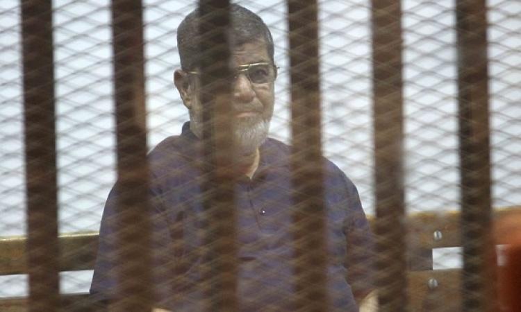 الجنايات تستأنف اليوم محاكمة مرسى وآخرين فى قضية التخابر مع قطر