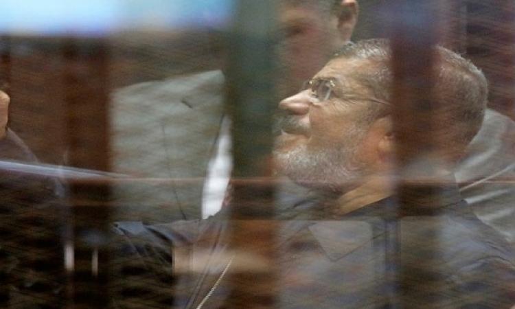 مشاده كلامية حادة بين مرسى وقاضى التخابر : أسكت مش عايز صوتك !!