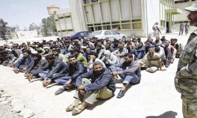 103 مصريين جدد فى قبضة فجر ليبيا .. هجرة غير شرعية بردو !!