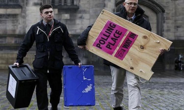 انطلاق اشرس انتخابات برلمانية بريطانية .. هل يبقى كاميرون ام يفوز ميليباند ؟