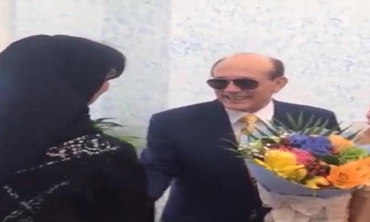 بالصور..تكريم الفنان محمد صبحي في مركز بن راشد في دبي