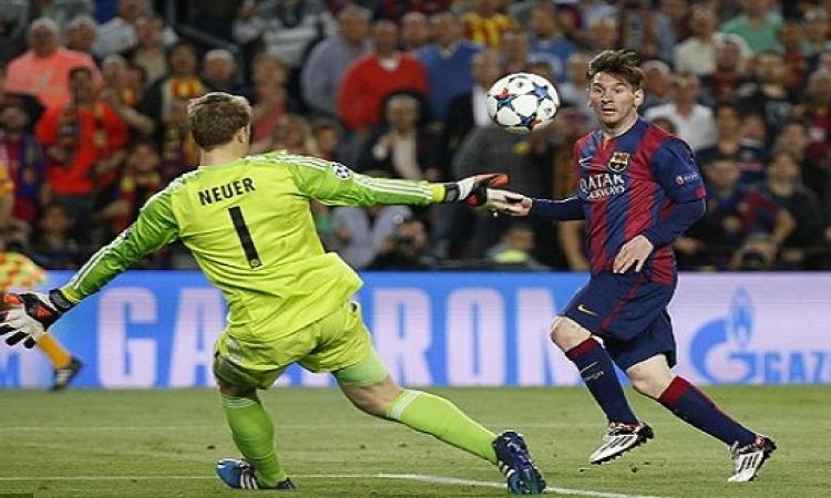 بالفيديو .. ميسى يقود برشلونة للفوز على بايرن ميوينخ بثلاثية نظيفة