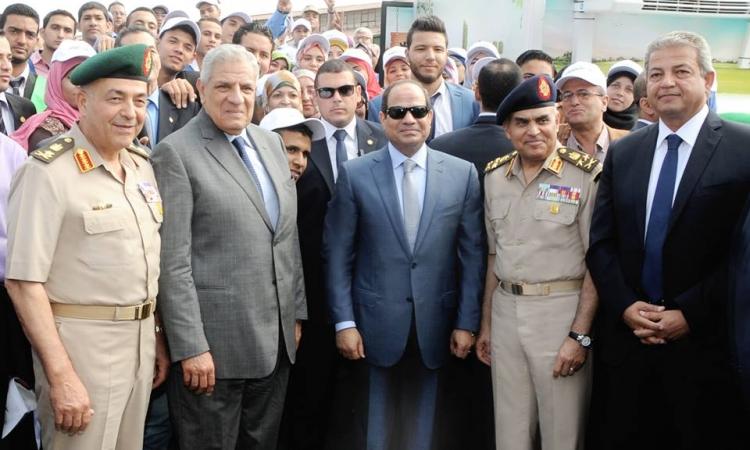السيسى يفتتح ٣٩ مشروعا للقوات المسلحة بتكلفة 5.8 مليار جنيه