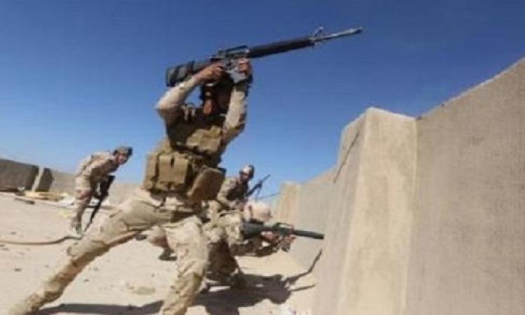 القوات العراقية تستعيد السيطرة على منطقة حصيبة من تنظيم داعش