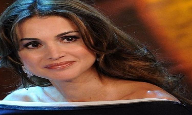 الملكة رانيا تستقبل ولى العهد بالملابس الرياضية.. عادى جدا الست كاجوال