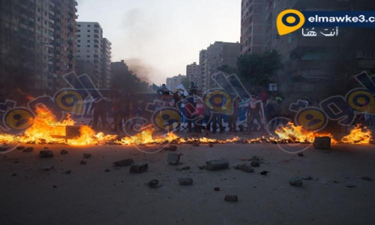 بالصور ..  تصاعد الاشتباكات بين التراس نهضاوى وقوات الأمن فى ذكرى تأسيسها