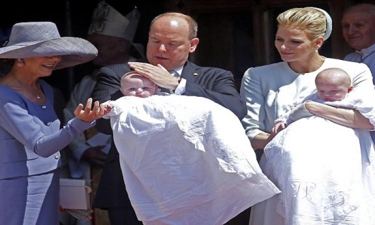 الظهور الأول لتوأمى أمير موناكو