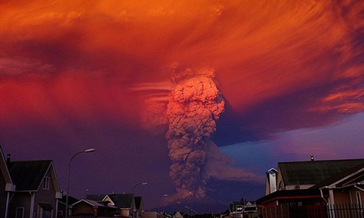 غضب الطبيعة يظهر فى أمريكا اللاتينية .. بركان فيلاريكا شاهد بنفسك