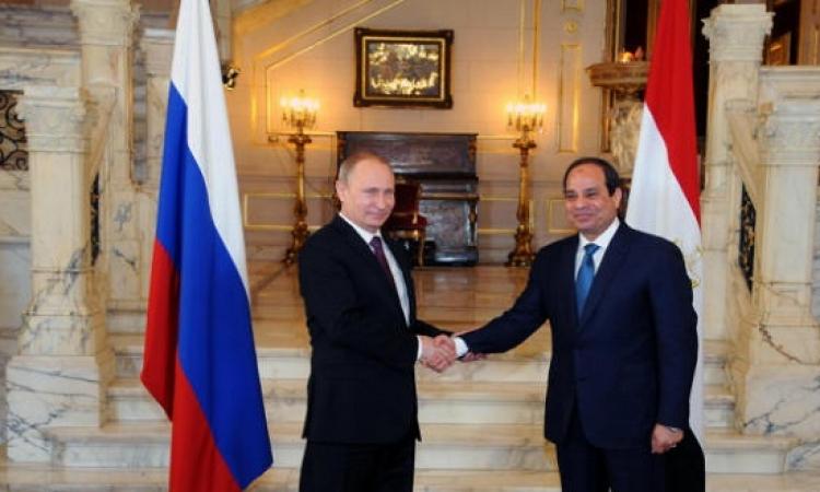 جدول أعمال السيسى اليوم فى روسيا : قمة مع بوتين ولقاءين ومؤتمر صحفى