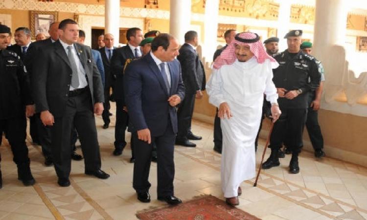 السيسى يعود للقاهرة بعد زياره للسعودية اليوم