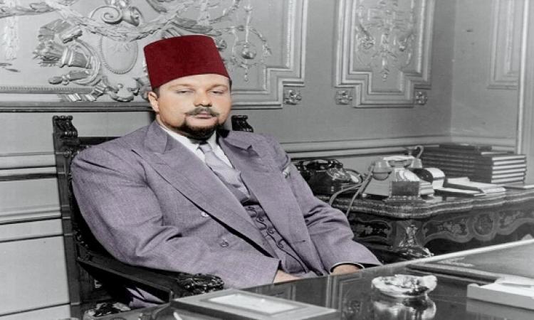 قصة فنجان شاى بأمر الملك فاروق