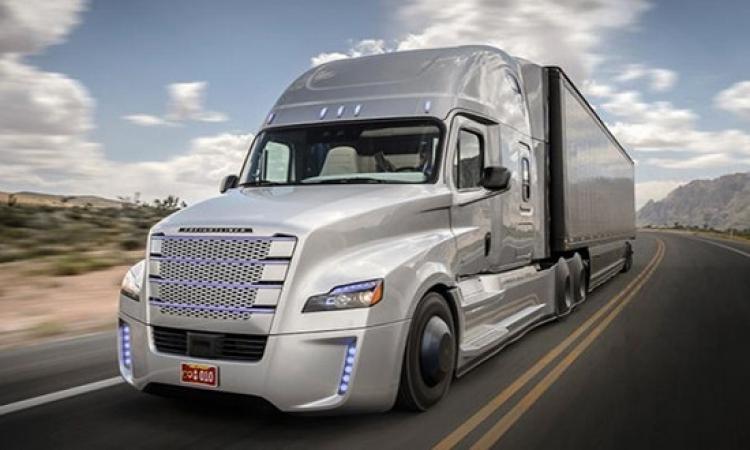 بالصور .. الشاحنة الأولى ذاتية القيادة في العالم تدخل مرحلة الاختبار على الطريق