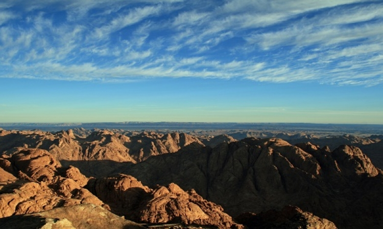 جبل موسى.. السكون والهدوء والراحة موجودة فى مصر