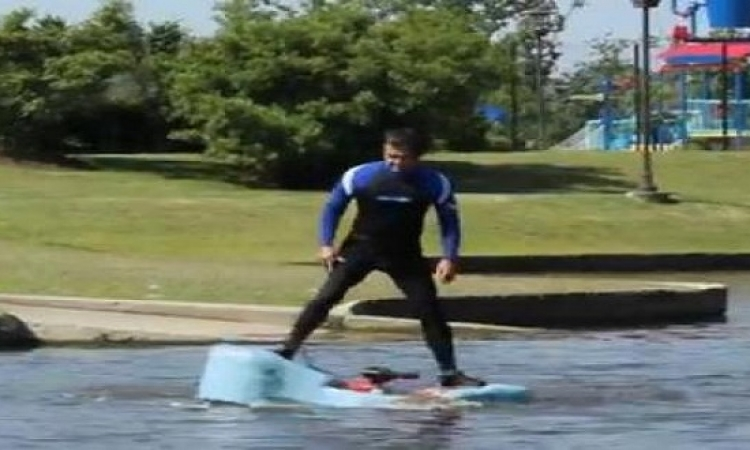 بالفيديو.. جهاز للمشي على الماء وإنقاص الوزن معاً