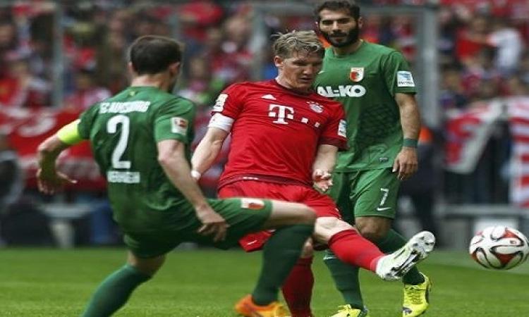 بايرن ميونيخ يسقط على ملعبه أمام اوجسبورج قبل مواجهة برشلونة