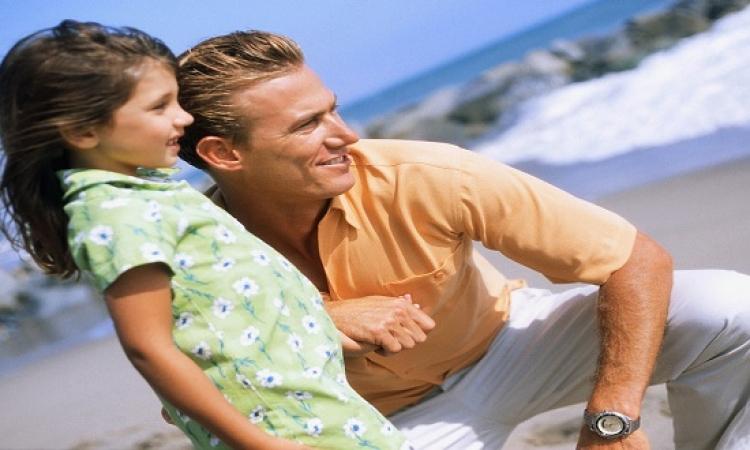 بالصور .. الأب والأبنة .. قصة عشق خالدة