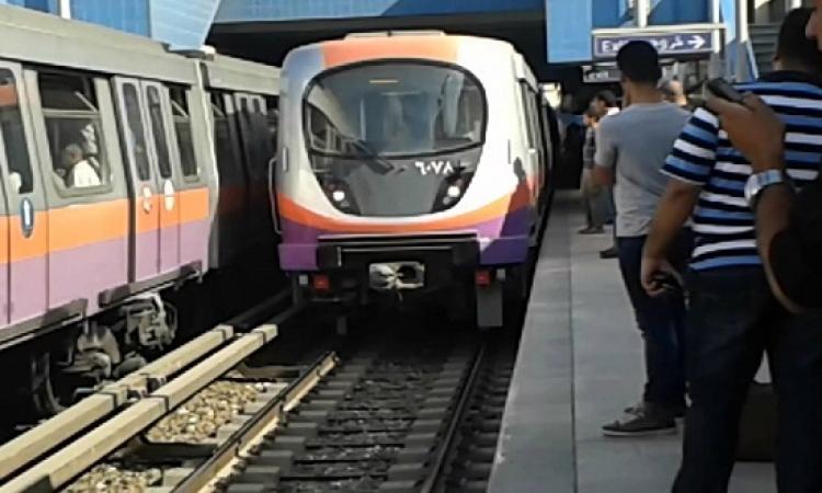 مساعد وزير الداخلية يتفقد التجهيزات بمحطة مترو السادات استعدادًا لافتتاحها
