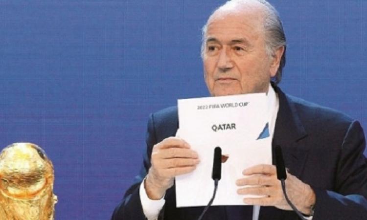 هل تؤدى فضيحة فساد الفيفا إلى حرمان قطر من تنظيم كأس العالم 2022 ؟