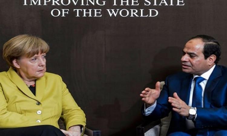 وفد من الرئاسة يتوجه إلى المانيا للإعداد لزيارة السيسى المرتقبة في يونيو المقبل