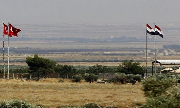 تركيا تشيد جدارا عازلا على طول حدودها مع سوريا