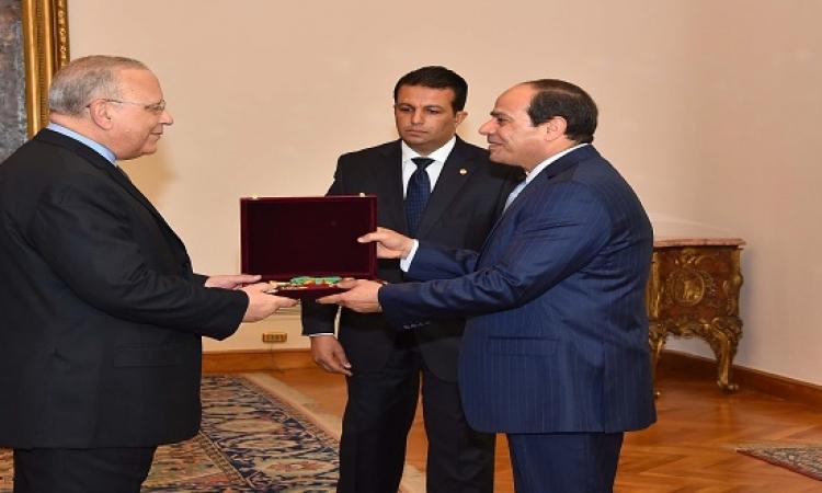 وسام الجمهورية للمستشار محمد حسام عبد الرحيم