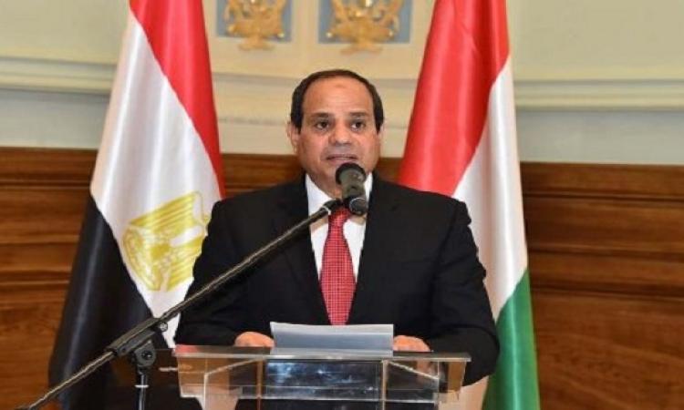 السيسى يصدر قرارا بقانون يحدد حالات إقالة رؤساء الهيئات الرقابية