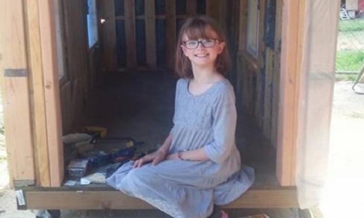 ابنة الـ9 سنوات.. تبنى ملجأ للمشردين .. جدعة يا بنت