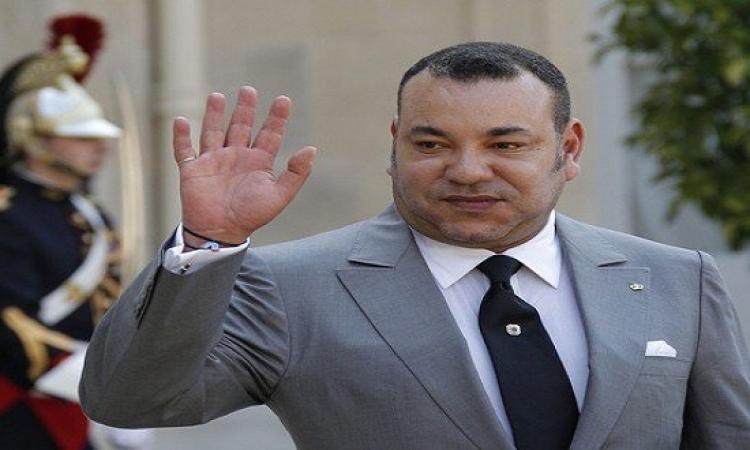 العاهل المغربى يستقبل ساركوزى لمناقشة أوضاع المنطقة