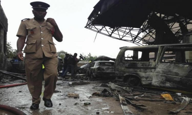 ارتفاع ضحايا انفجار محطة وقود بغانا إلى 90 قتيلًا