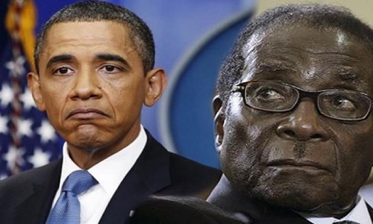 بعد إقرار زواج المثليين فى أمريكا .. هل يتزوج أوباما من موجابى .. عمومًا ربنا يتمم بخير !!