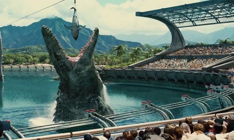 حديقة الديناصورات يتصدر شباك التذاكر ويحقق أكثر من 200 مليون دولار فى 3 أيام