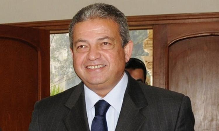 خالد عبد العزيز يزور فريق سموحه لشد آزر اللاعبين