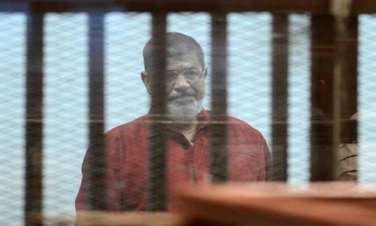 تأجيل محاكمة مرسى وآخرين فى قضية التخابر مع قطر لجلسة 25 يونيو