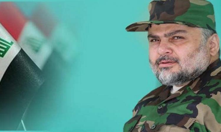 الصدر يظهر باللباس العسكرى ويدعو لمواصلة قتال داعش