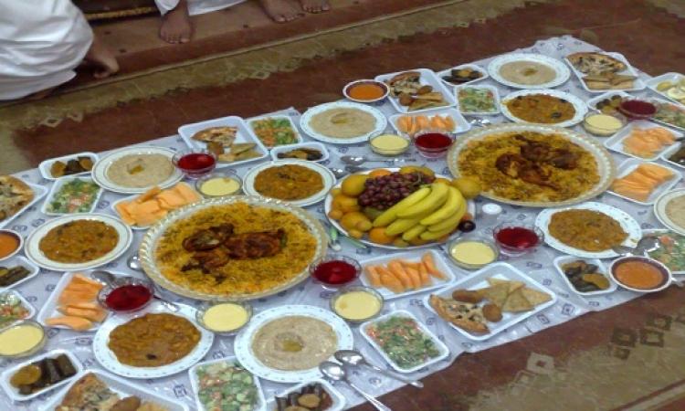 رتب طعامك على المائدة حسب الأهمية خلال شهر رمضان