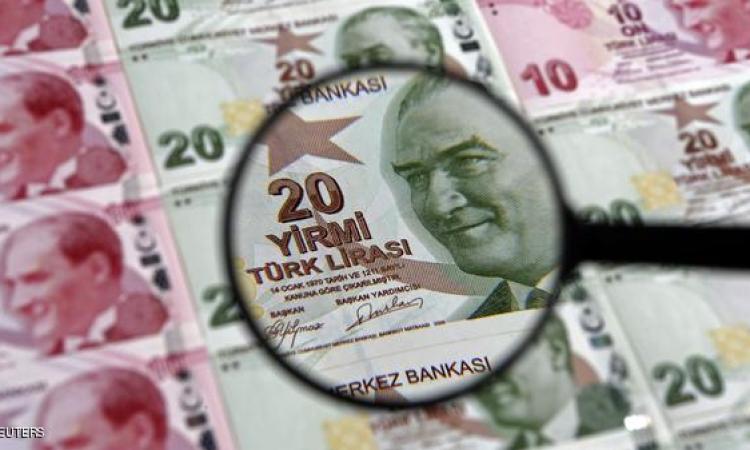 الليرة التركية تسقط بسقوط حزب اردوغان والمركزى يتدخل