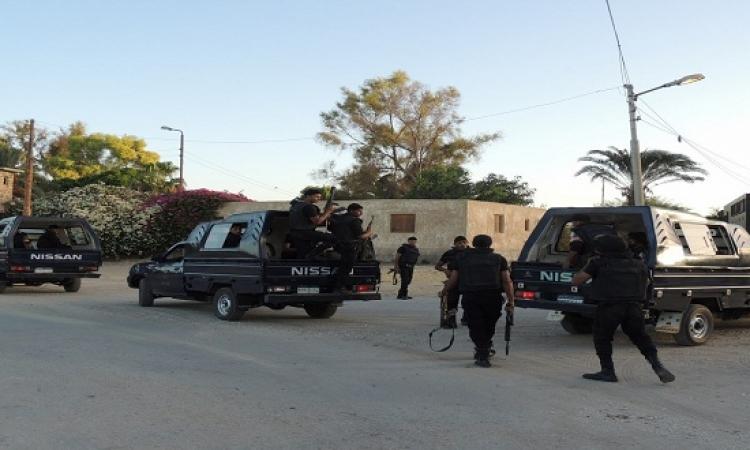 مسلحون استهدفوا قسم شرطة الشيخ زويد