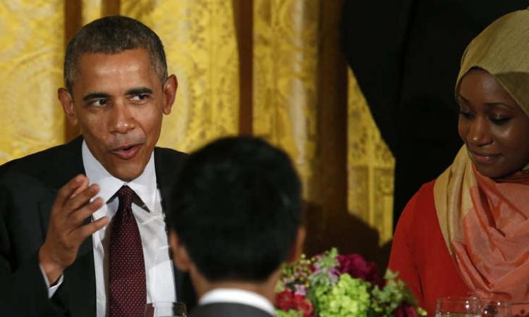 أوباما فى حفل الإفطار السنوى: رمضان يذكرنا بالوقوف ضد العنف والتمسك بالحريات
