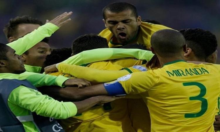 في غياب نيمار .. البرازيل تهزم فنزويلا.. وتتأهل مع بوليفيا وكولومبيا