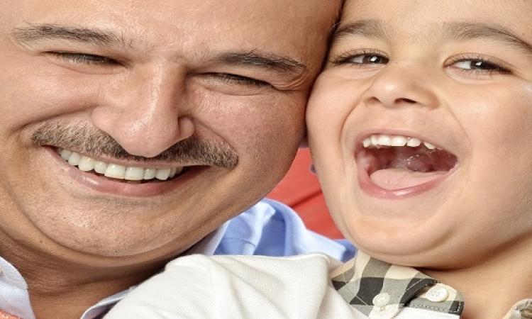 جمال سليمان: أعمالى لا تناسب ابنى.. واتمنى يكبر ويشاهد كل أعمالى