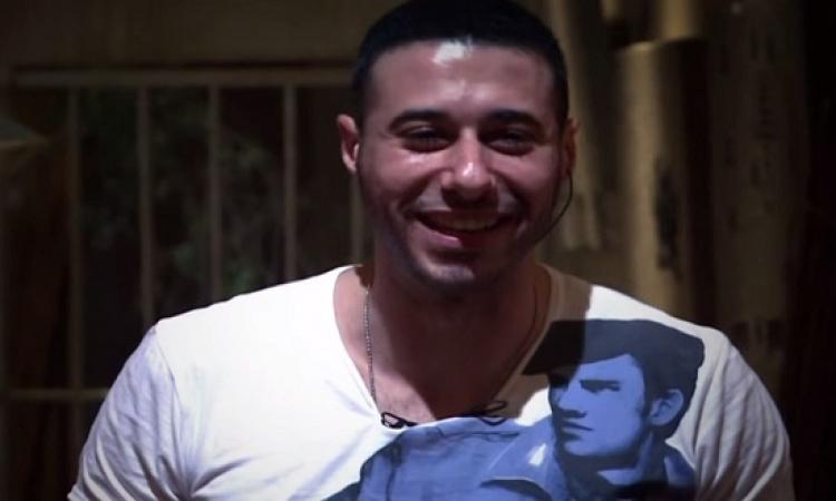 """أحمد السعدنى والسبكى فى كواليس """"خمس خمسات خمسة """""""